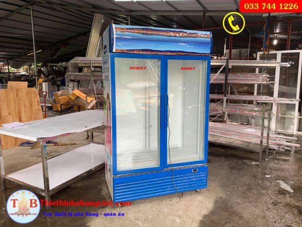 Thanh lý tủ máy sanaky 800l