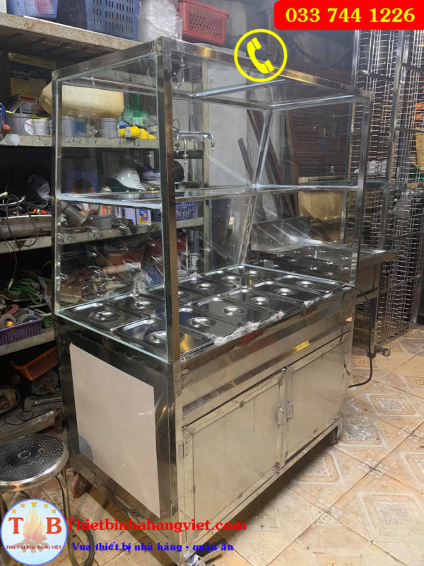 Tủ hâm nóng thức ăn giá rẻ